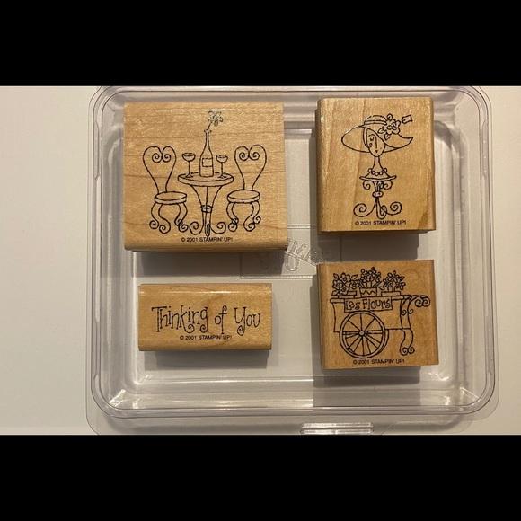 Stampin'Up French Twist stamp set